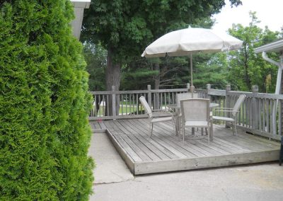 Pines Cottage patio furniture